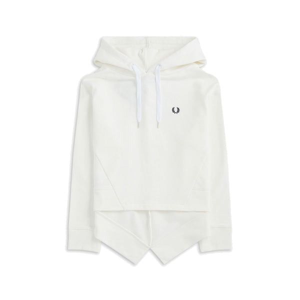 Fred Perry Fishtail Hooded Sweatshirt<p>Snow White
