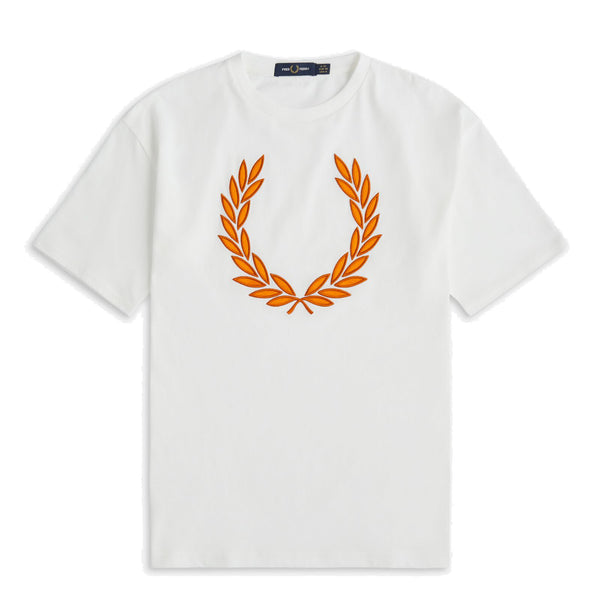 Fred Perry Laurel Wreath T-Shirt<p>Snow White