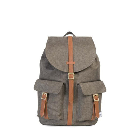Herschel Dawson Backpack<p>Canteen Crosshatch/Tan Synthetic Leather