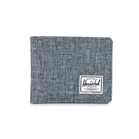 Herschel Hank Wallet Coin<p>Raven Crosshatch