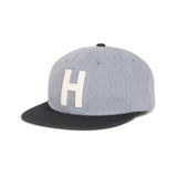 Herschel Hardwood Cap<p>Heathered Grey/Black