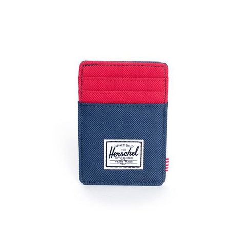 Herschel Raven Wallet<p>Navy/Red