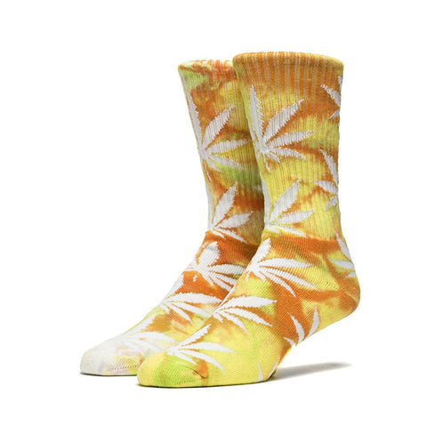 HUF Tie Dye Plantlife Crew Socks<p>Orange