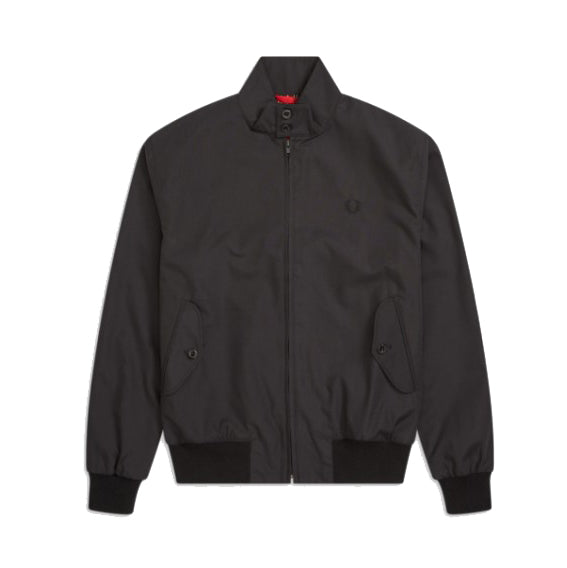 Fred Perry Reissues Made In England Harrington<p>Black