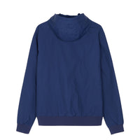 Fred Perry Hooded Brentham Jacket<p>Medieval Blue