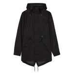 Fred Perry Fishtail Parka<p>Black