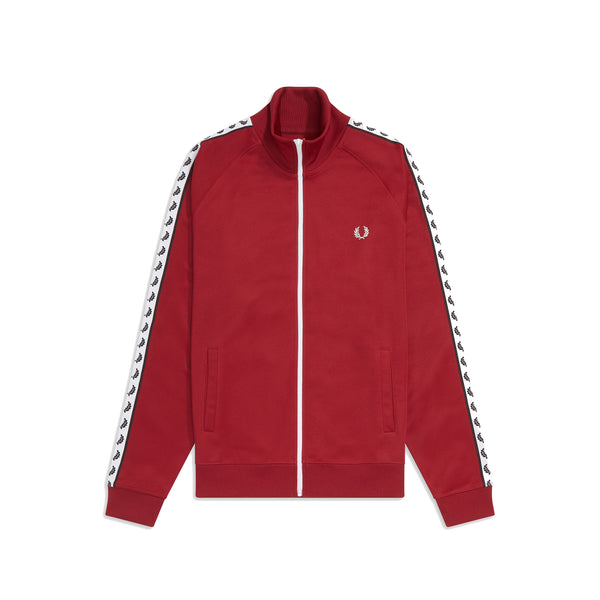 Fred Perry Sports Authentic Taped Track Jacket<p>Rosso