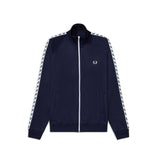Fred Perry Taped Track Jacket<p>Carbon Blue