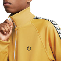 Fred Perry Sports Authentic Taped Track Jacket<p>Gold