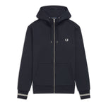 Fred Perry Hooded Jacket <p>Navy