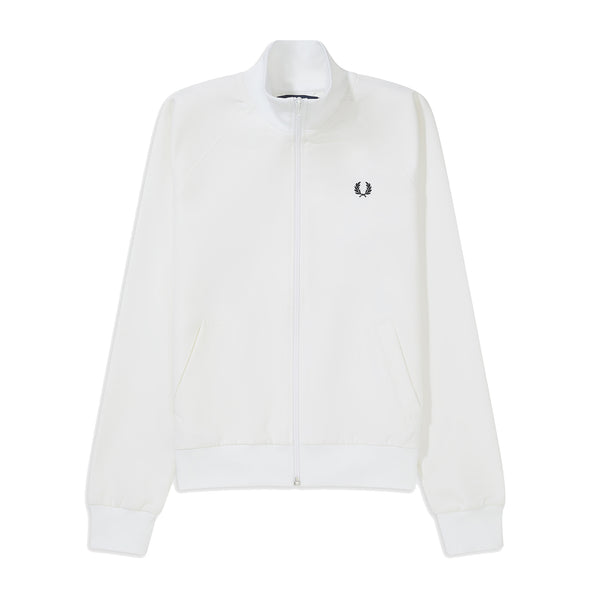 Fred Perry Tape Detail Track Jacket<p>White