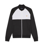 Fred Perry Colour Block Track Jacket<p>Black