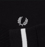 Fred Perry Knitted Track Jacket<p>Black