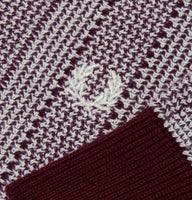 Fred Perry Reissues Two-Colour Turtle Neck<p>Aubergine