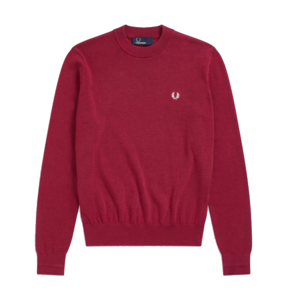 Fred Perry Crew Neck Jumper<p>Claret
