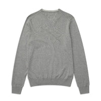 Fred Perry Classic V Neck Jumper<p>Steel Marl