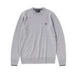Fred Perry Crew Neck Sweater<p>Frost Grey Marl