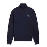 Fred Perry Roll Neck Jumper<p>Navy