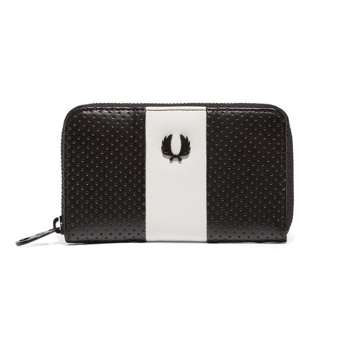 Fred Perry Contrast Panel Purse<p>Black/White