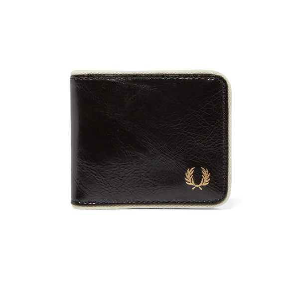 Fred Perry Classic Billfold Wallet<p>Black