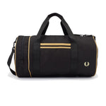 Fred Perry Twin Tipped Barel Bag<p>Black/ Champagne