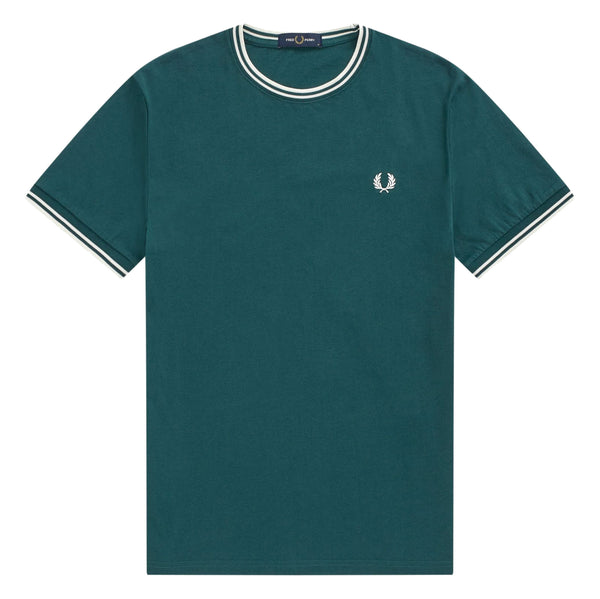 Fred Perry Twin Tiped T-Shirt<p>Petrol