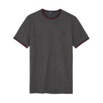 Fred Perry Twin Tipped T-shirt<p>Graphite Marl