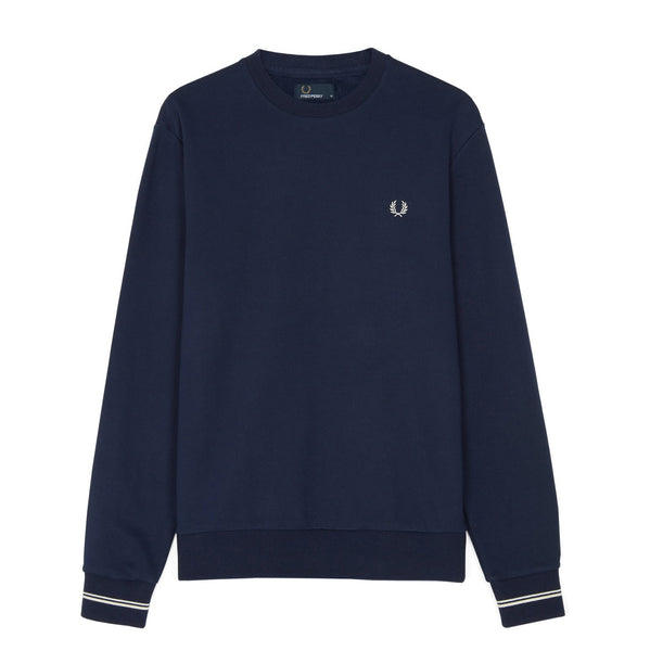 Fred Perry Crew Neck Sweatshirt<p>Carbon Blue
