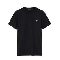 Fred Perry Ringer T-shirt <p>Black
