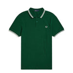 Fred Perry Twin Tipped Polo Shirt <p>Ivy/ Snow White