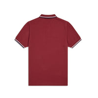 Fred Perry M36 Twin Tipped Polo Shirt <p>Dark Red