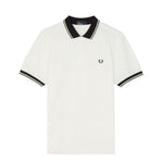 Fred Perry Contrast Rib Piqué Polo<p>Snow White