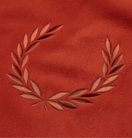 Fred Perry Embroidered Crew Neck Fleece<p>Paprika