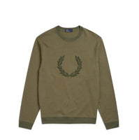 Fred Perry Textured Laurel Wreath<p>Iris Leaf