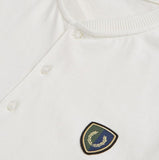 Fred Perry Henley Shield T-shirt<p>Snow White