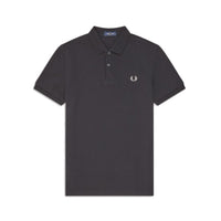 Fred Perry M36 Plain Polo Shirt <p>Black
