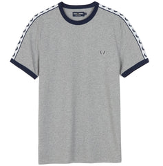 Fred Perry Sports Authentic Taped Ringer T-Shirt <p>Steel Marl