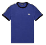 Fred Perry Twin Taped Ringer T-shirt <p>Nautic Blue