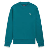 Fred Perry Crewneck Sweatshirt<p>Petrol