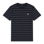 Fred Perry Fine Stripe T-shirt<p>Navy