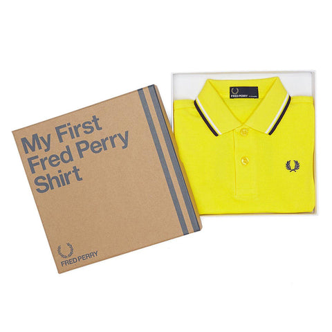 My First Fred Perry Shirt<p>Yellow