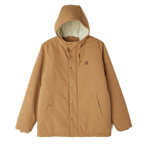 Obey Hillman Jacket<p>Tobacco