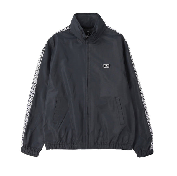 OBEY Eyes Track Jacket<p>Black