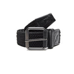 Obey Icon Braided Elastic Belt<p>Black