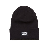 OBEY Icon Eyes Beanie<p>Black