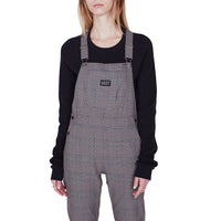 OBEY Ollie Plaid Overall<p>Black Multi