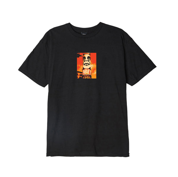 Obey Tee Pole 30 Years <p>Pitch Black