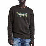 Levi's Graphic Crewneck Sweatshirt<p>Black Camouflage Housemark