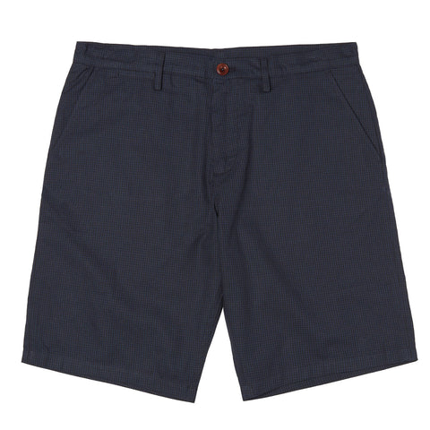 Fred Perry Gingham Shorts <p>Medieval Blue