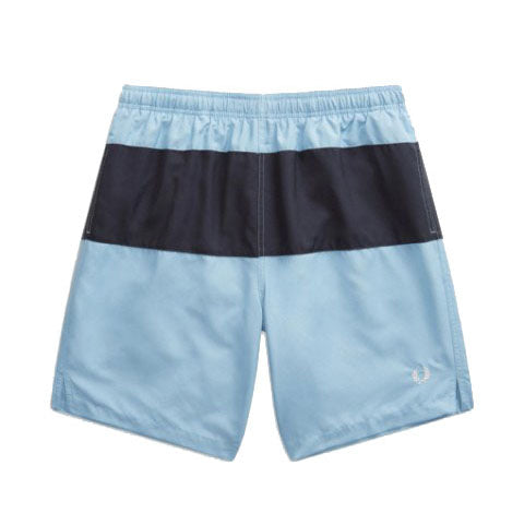 Fred Perry Classic Swim Shorts <p>Navy & Sky Blue